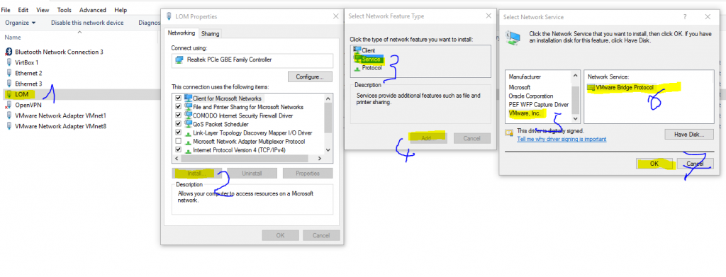 VMwareBridgeService